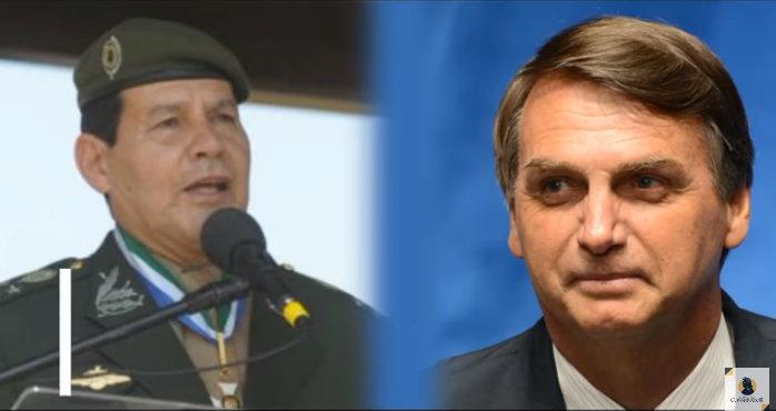 Mourão -Bolsonaro