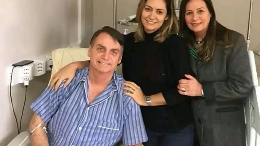 BOLSONARO RECEBE ALTA DA UTI DIZ HOSPITAL - tutor news (CC)