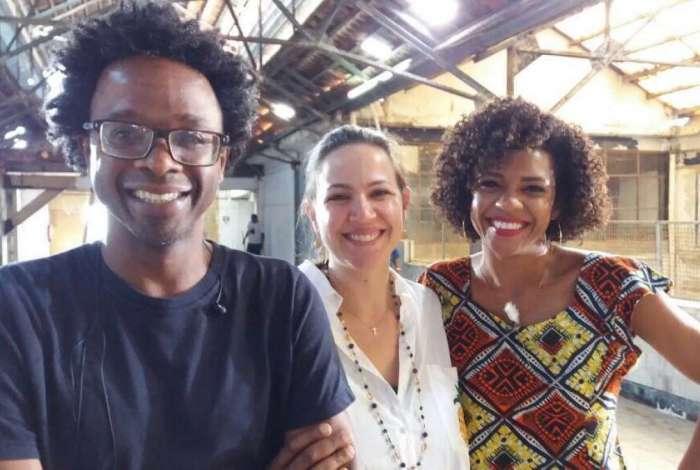 Jeferson De, Alice Gomes e Luciana Barreto