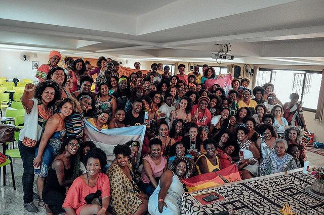 Encontro Estadual de Mulheres Negras de Minas Gerais aconteceu em setembro deste ano (Helen Lagares)