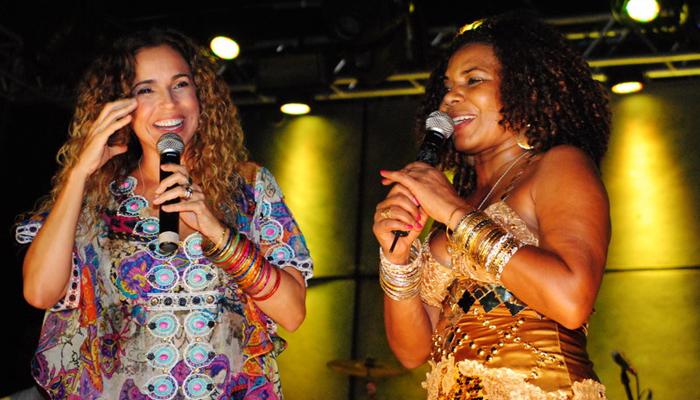 Margareth Menezes e Daniela Mercury
