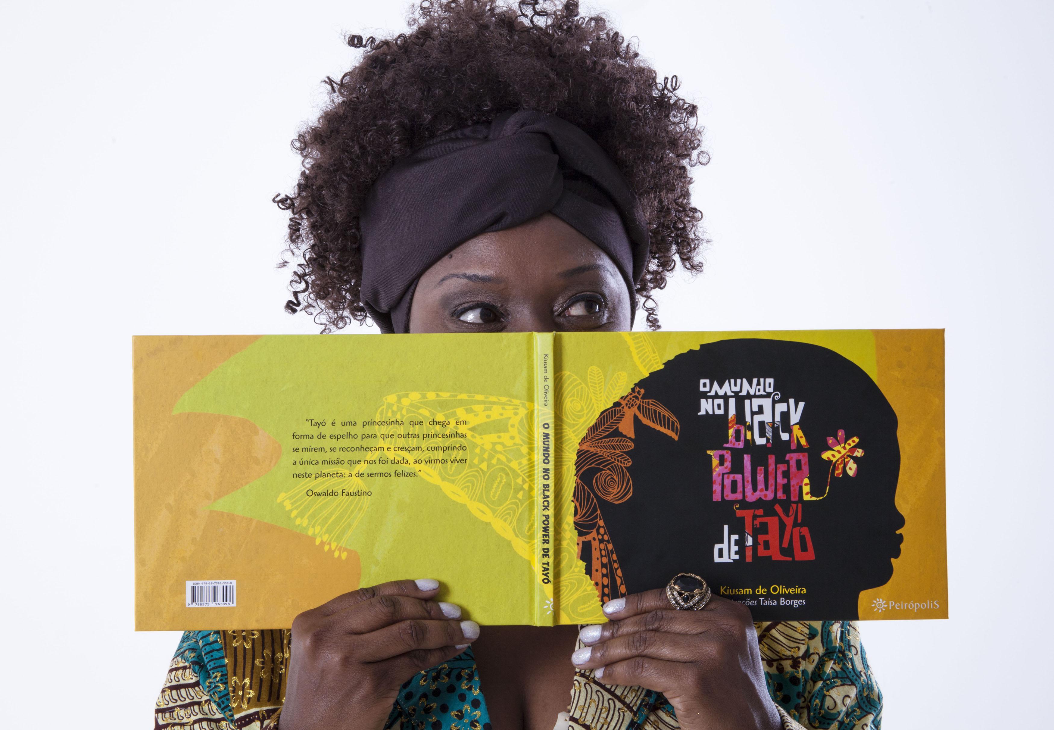 Os livros de Kiusam têm contribuído para que a representação de crianças negras na literatura seja positiva