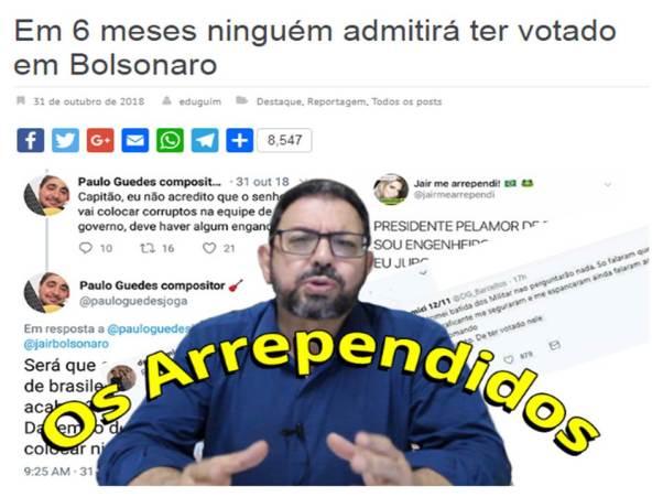 In six months - Bolsonaro