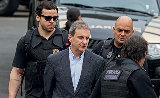 Alberto Youssef quando foi preso pela Polícia Federal (Lava Jato)