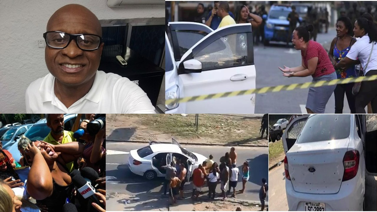 Army Takes 80 Shots at Family Car in Rio and kills Musician