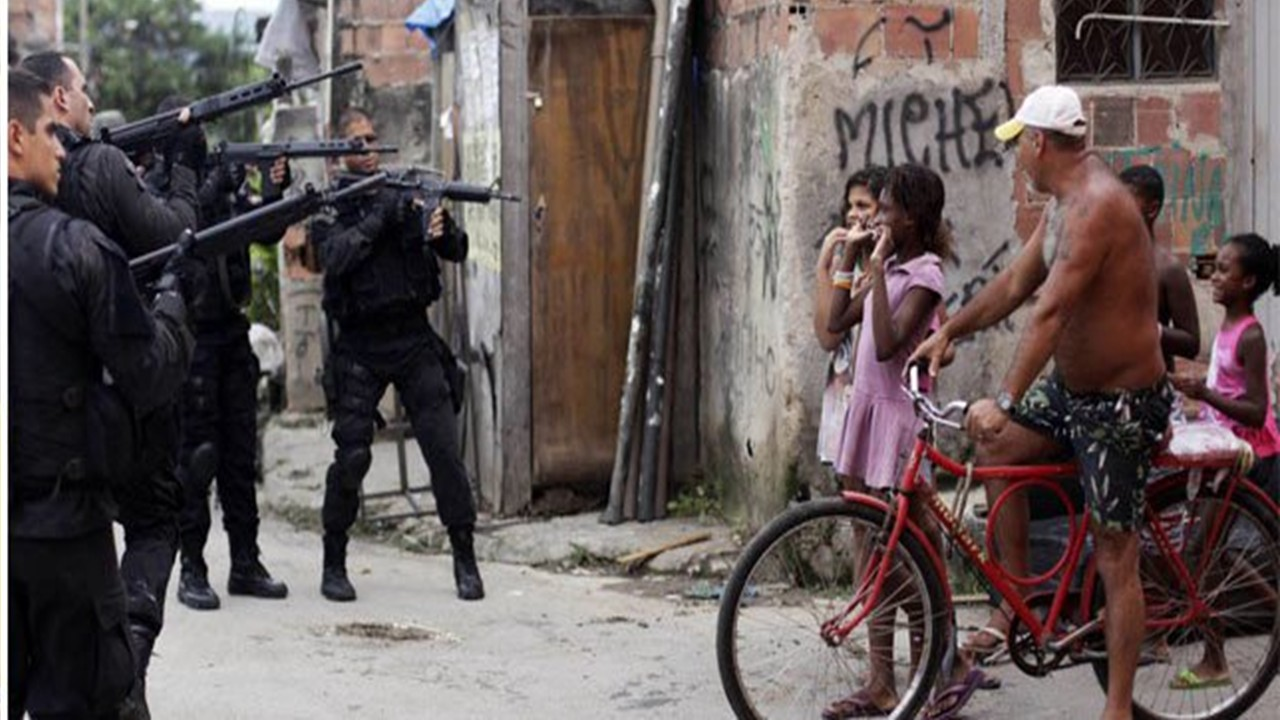 The favela (slum) is a Field of Extermination of Black People