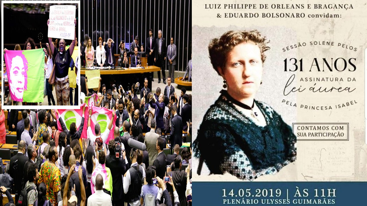 Movimento Negro interrupts tribute to Princess Isabel in the Congress