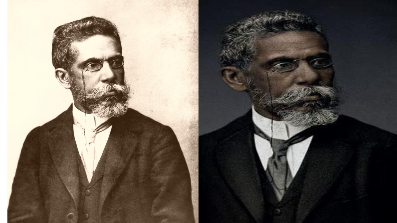 Campaign Recreates Photo of Machado de Assis to portray him black