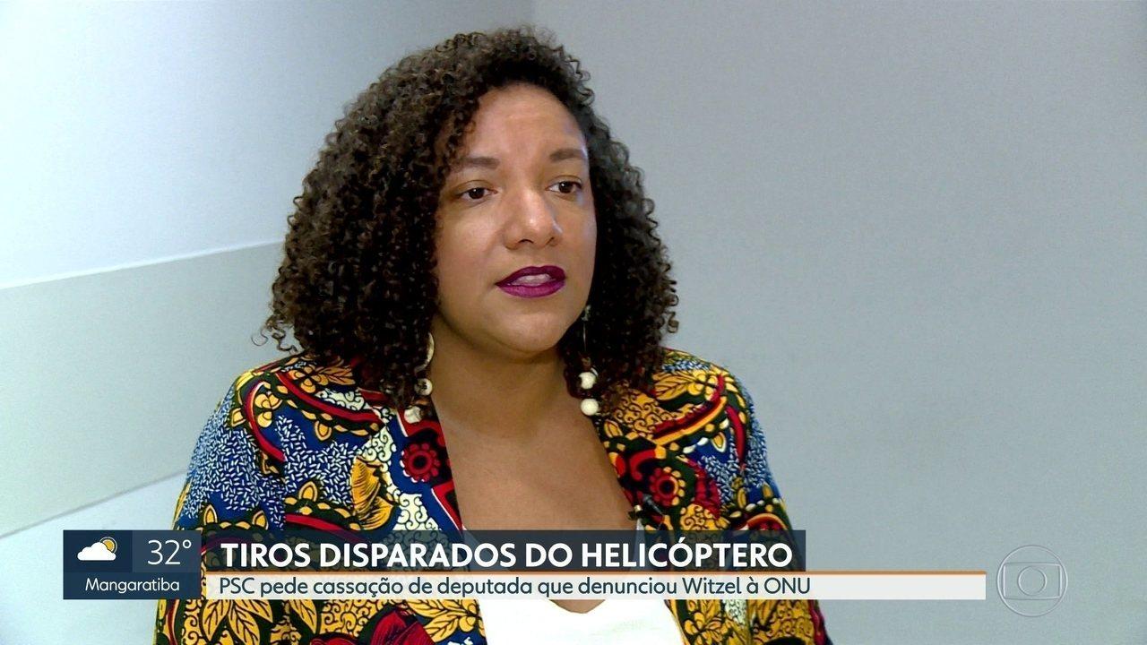Congresswoman Renata Souza denounced Rio's governor to the UN