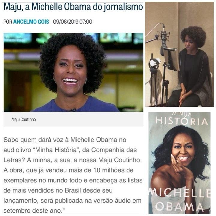 Journalist Maju Coutinho will Narrate Michelle Obama's memoir