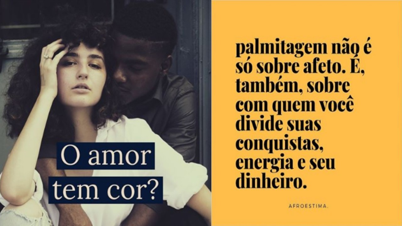 """Love Has No Color? """"Palmitagem (swirling) is not just about affection"""