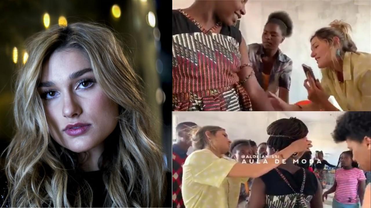 Sasha Meneghel: A fashion student & Daughter of TV host in Brazil