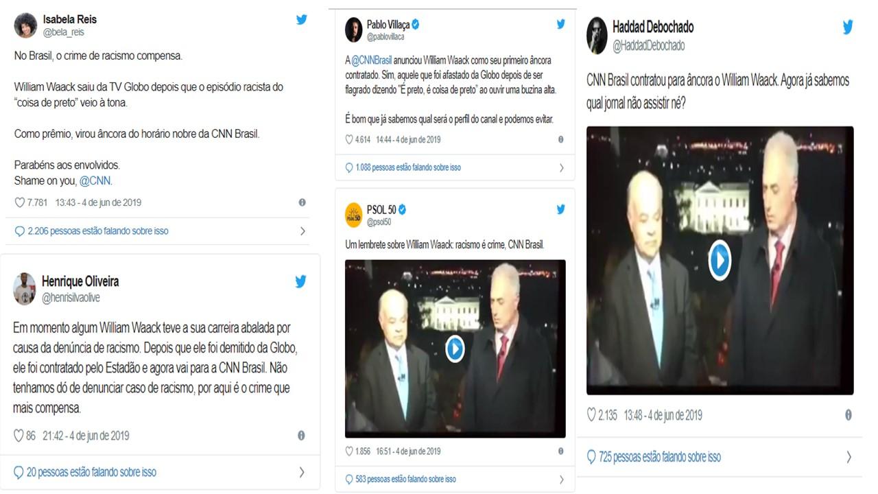 CNN BRASIL WAACK COMMENTS