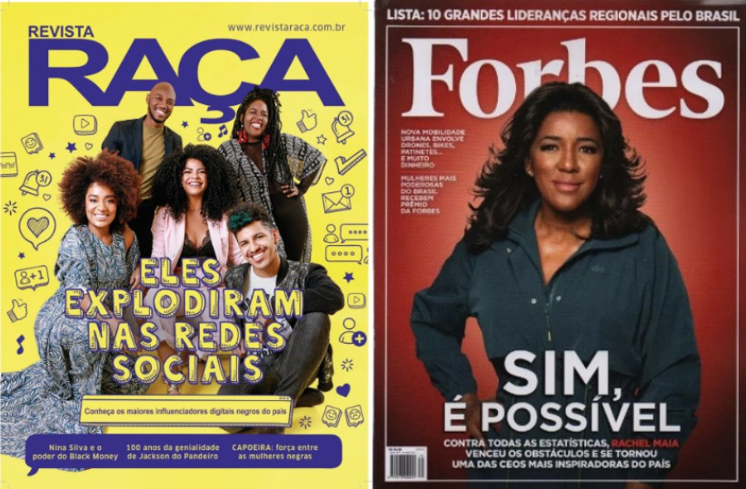 Raça Forbes (The New Concept of Beauty: More Black Faces on Magazine Covers)