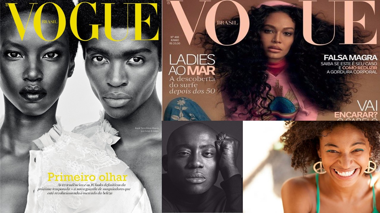 The New Concept of Beauty: More Black Faces on Magazine Covers