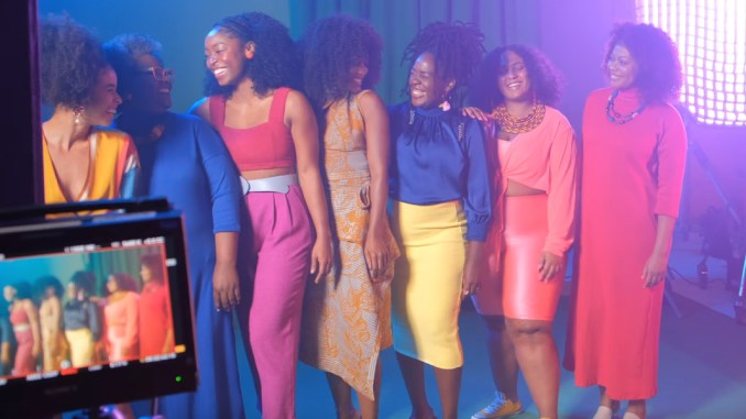Salon Line hair products commercial that pays homage to kinky/curly hair