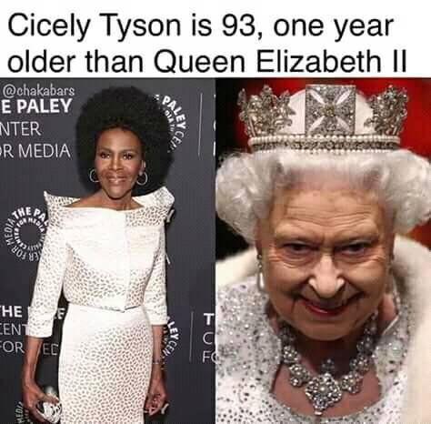Cicely Tyson - Queen Elizabeth
