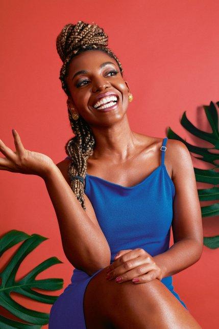 Débora Carvalho já namorou homens brancos e negros e acredita que a sociedade aceita melhor relações afrocentradas
