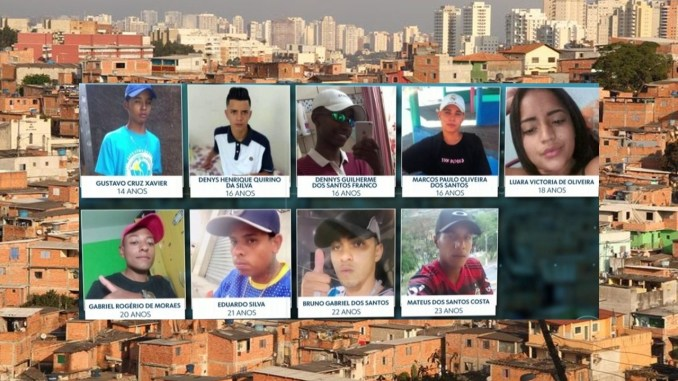 Paraisópolis: 9 Young people were massacred due to police actions