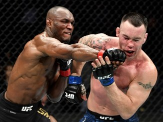 Nigerian UFC fighter Kamaru Usman Cheer Up By Brazilians