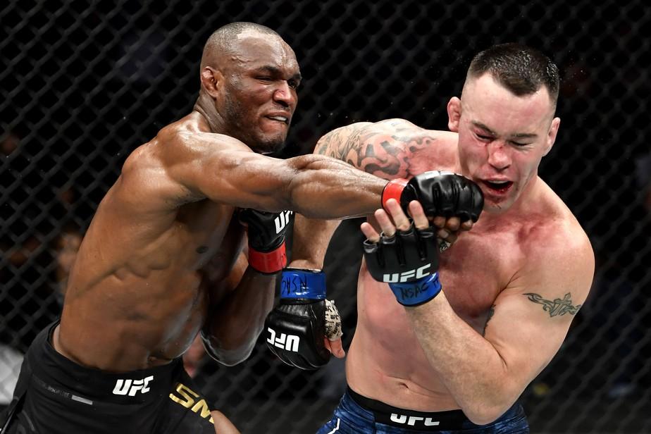Nigerian UFC fighter Kamaru Usman Cheer Up By Brazilians