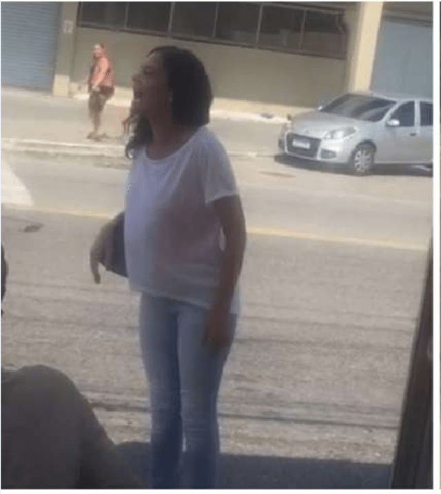 Woman Threatens Black Street Vendor, calls him 'monkey'