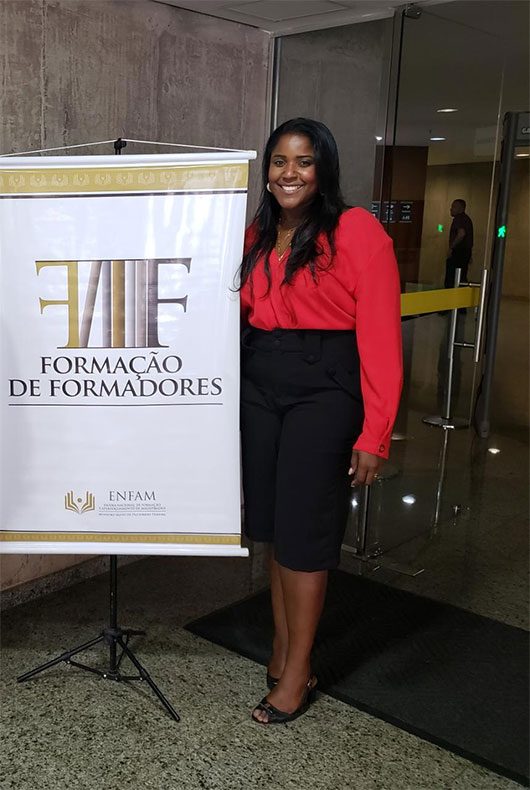 """35 Year old Black magistrate In Brazil """"people are shocked to see her"""""""