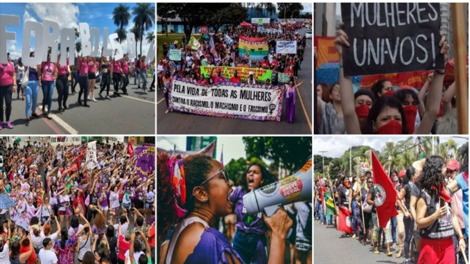 International Womens Day: Thousands of Women Defend Rights