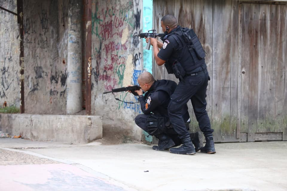 Covid-19 Pandemic: Police in Rio de Janeiro Slow Down Operations