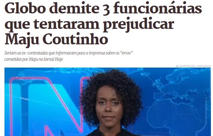 Globo fires employees