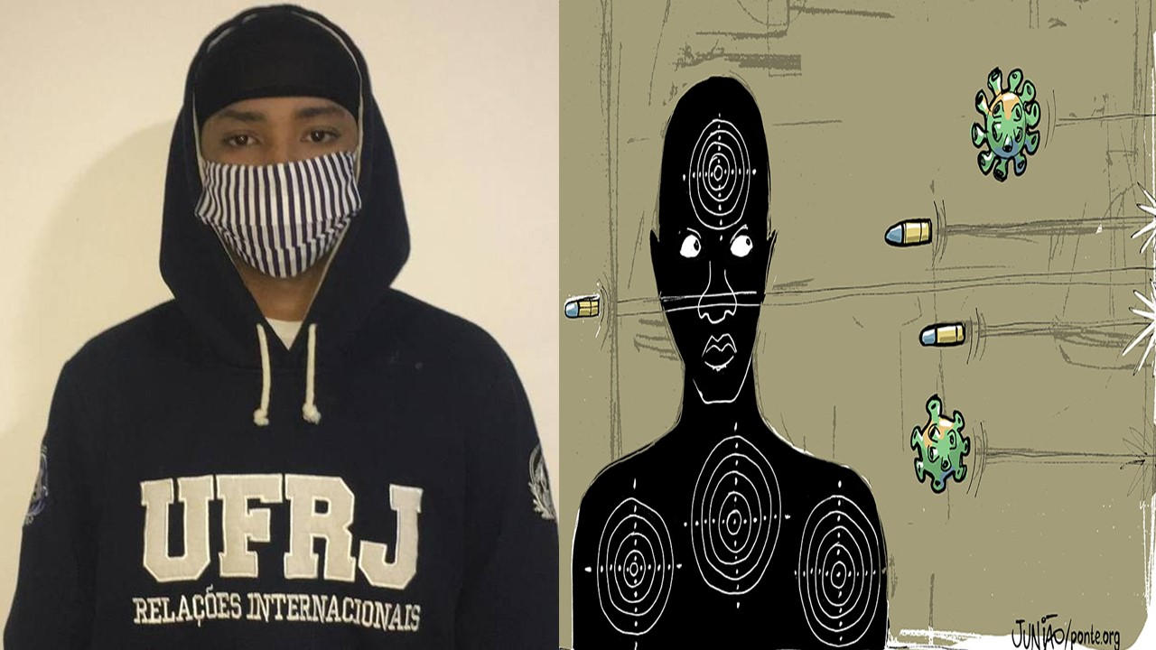 Black Men in Masks: Reactions of Police and People