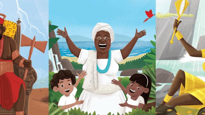 Waldete Tristão Teaches Children About African Gods