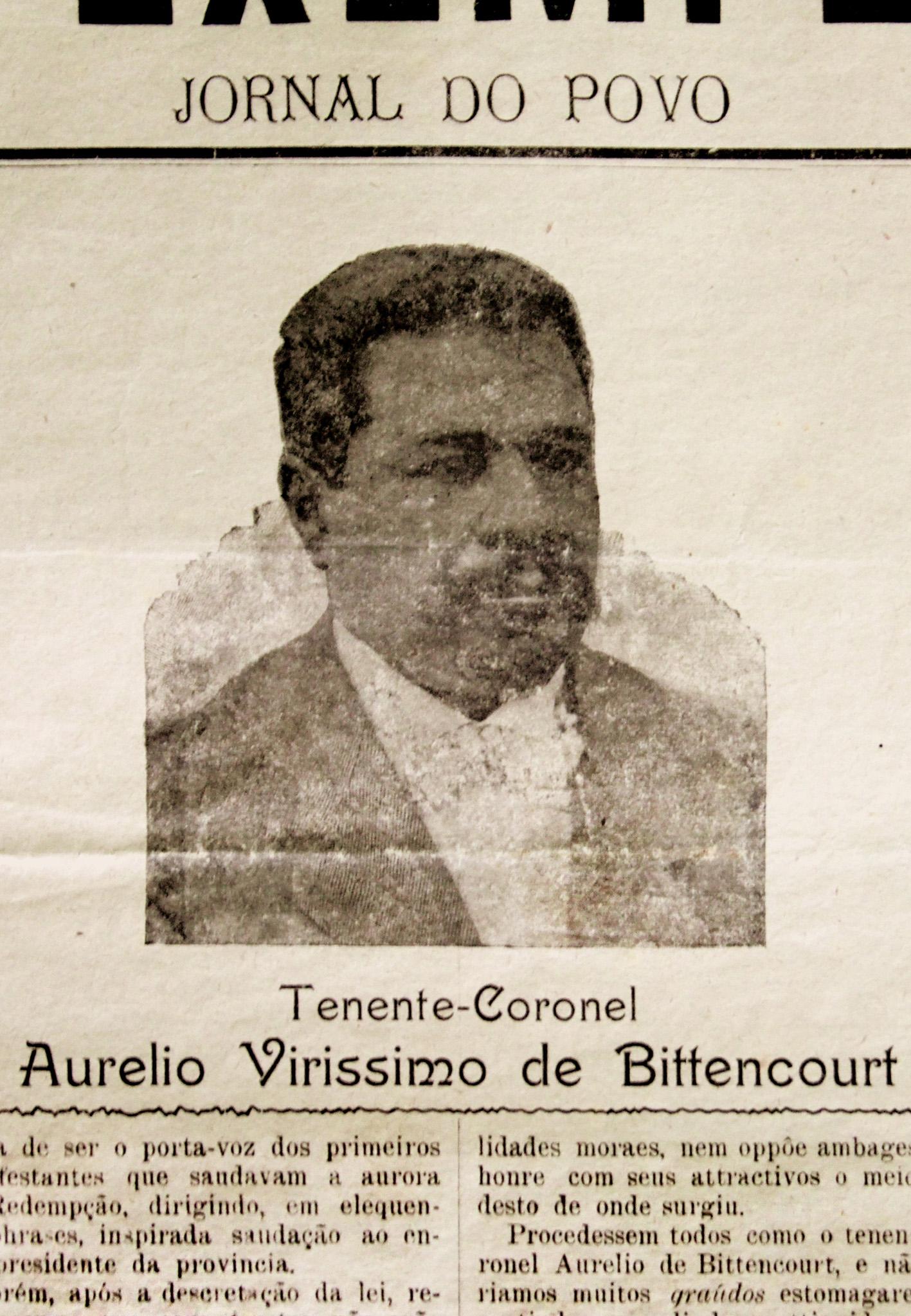 Aurélio Verissimo de Bittencourt The Invisibility of Blacks in one of Brazil's Whitest States