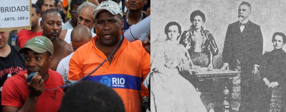 Brazil have a direct inheritance with slavery
