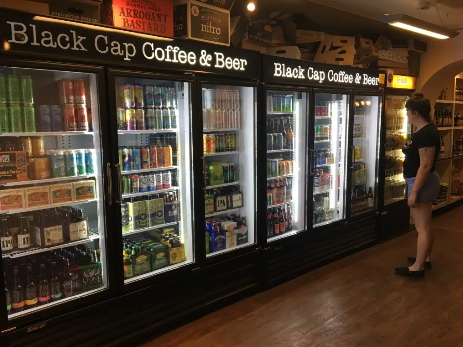 Beer Fridge in Stowe with the best craft beer in Vermont