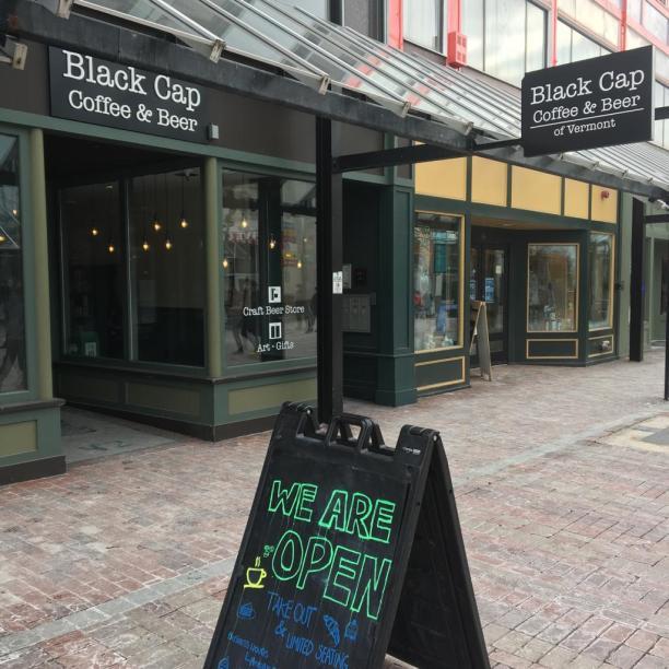 Burlington Church St Black Cap Coffee & Beer