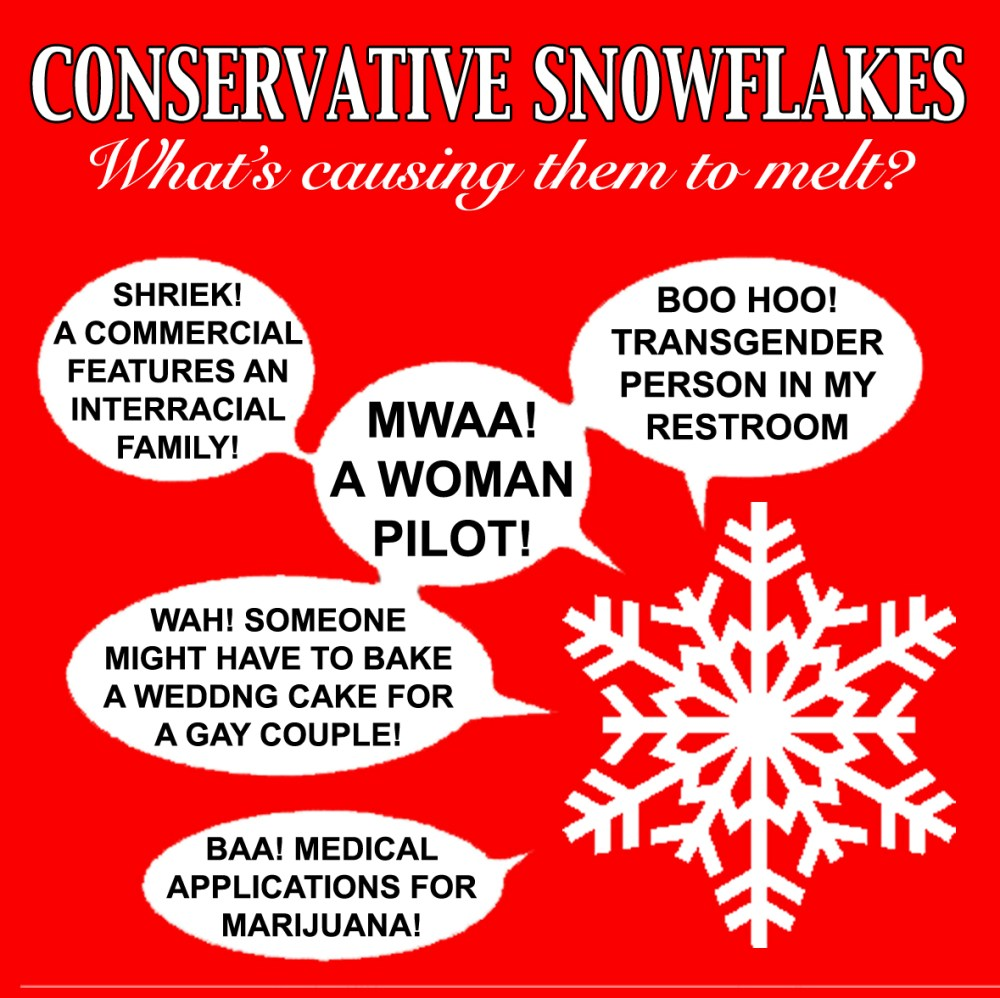 Conservative Snowflakes