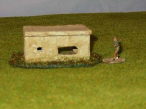 Small type pillbox for A.T Gun