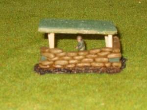 Turf Roof option for  40/20 Sandbag position