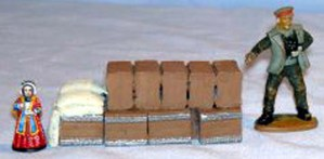 Crates & Sacks approx 80mm long