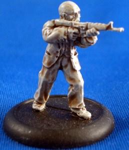 Investigator with M16