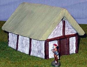Dark Ages Thatched Hut