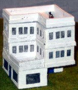 15mm Multi story flats 4 section building