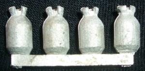 Medium gas bottles