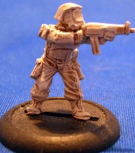 Trooper with Machine Gun