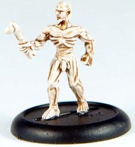 1 zombie (anatomically  correct!)