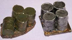 2x Metal Barrel groups