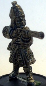 Royal Navy Marine with a blunderbus