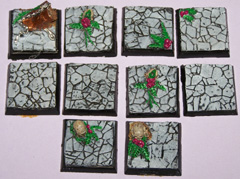 10x Ruined Temple 25mm bases