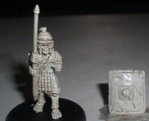 5x Skeleton Roman Legionaries with Pilum & shield